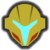 Icône Samus sombre jaune Ultimate