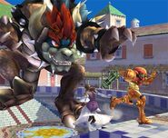 Bowser Smash final Brawl 3