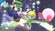 Link Cartoon SSB4 Profil 1