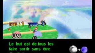 Super Smash Bros. 64 - How to Play (sub french)