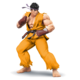 SSB4 Ryu jaune