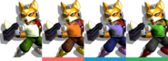 Couleurs Fox Melee