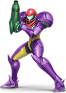 Art Samus violet Ultimate