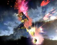 Captain Falcon attaques Brawl 7