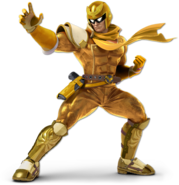 Art Captain Falcon jaune Ultimate