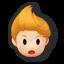 Icône Lucas orange U