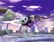 Meta Knight attaques Brawl 2