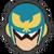 Icône Captain Falcon bleu Ultimate