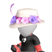 Chapeau à fleurs Ultimate