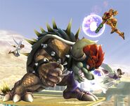 Bowser Smash final Brawl 4