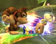 Donkey Kong attaques Brawl 5