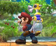 Mario attaques Brawl 1
