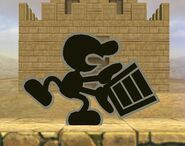 Mr. Game & Watch attaques Brawl 2