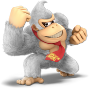 Art Donkey Kong blanc Ultimate