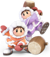 Art Ice Climbers orange violet Ultimate