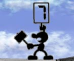 Mr. Game & Watch Melee Profil 21