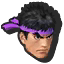 Icône 3DS Ryu rouge
