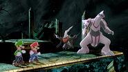 Les Mario avec Palkia & Darkrai