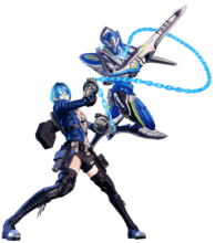 Art Héroïne & Sword Legion Astral Chain