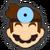 Icône Dr. Mario bleu Ultimate