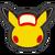 Icône Pikachu rouge Ultimate