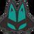 Icône Lucario bleu vert Ultimate