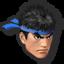 Icône Ryu gris U