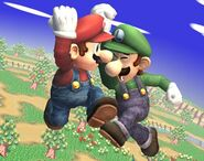 Luigi Profil Brawl 3