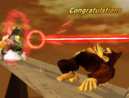 Félicitations Donkey Kong Melee All-Star