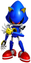 Art Metal Sonic Forces