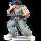 SSB4 Ryu gris
