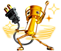 Art Super Chibi-Robo Zip Lash