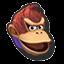 Icône Donkey Kong rouge U