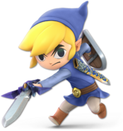 Art Link Cartoon bleu Ultimate