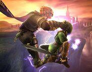 Ganondorf attaques Brawl 9