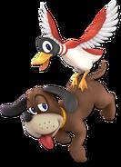 Art Duo Duck Hunt rouge Ultimate