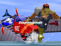 Félicitations Captain Falcon Melee Aventure