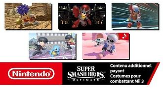 Super Smash Bros. Ultimate – Costumes pour combattant Mii 3 (Nintendo Switch)