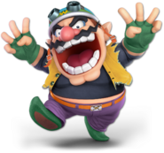 Art Wario jaune Ultimate