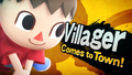 Splash art Villageois SSB4