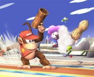 Diddy Kong attaques Brawl 1