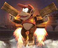 Diddy Kong Smash final Brawl 1
