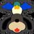 Icône Duo Duck Hunt noir Ultimate