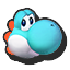 Icône Yoshi bleu clair U