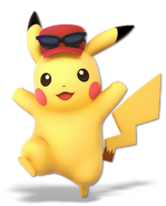 Art Pikachu rouge 2 Ultimate