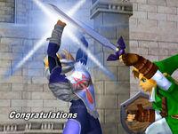Félicitations Zelda Melee Aventure