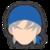 Icône Héros bleu Ultimate