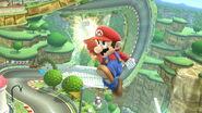 Super Poing Sauté U Mario