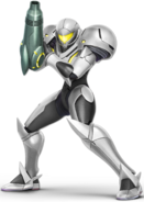Art Samus blanc Ultimate