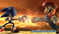 Félicitations Sonic Brawl Classique